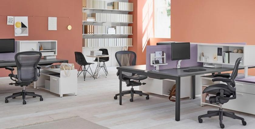 Office furniture suitable for technology companies