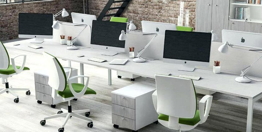 Impact of office furniture color