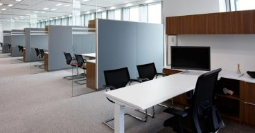 The role of partitions in open office offices