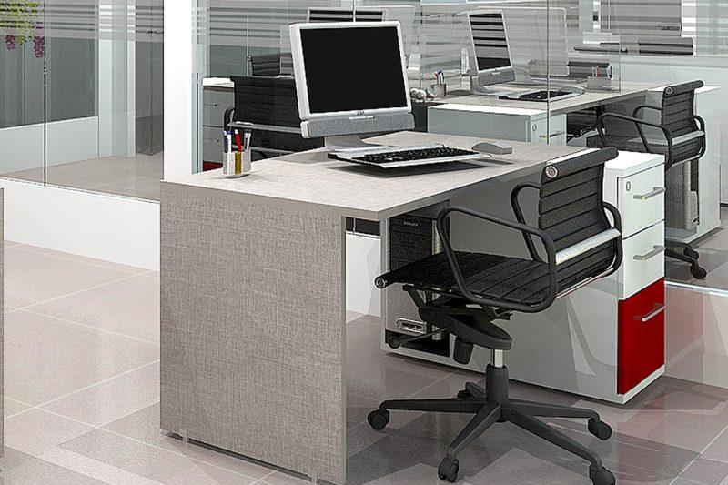 میز کارمندی SDW117