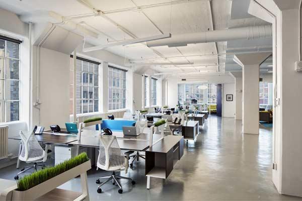 نکات طراحی یک دفتر مدرن