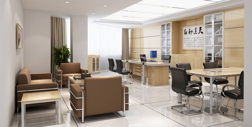 The idea of designing office decoration
